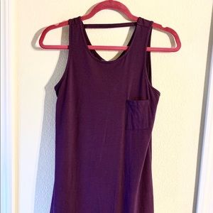 Like new. Purple maxi in kid's section @Nordstrom